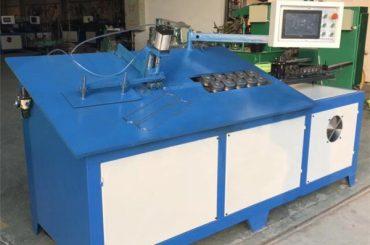 Dobladora automática de alambre de acero 2D CNC