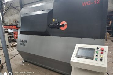 Máquina dobladora de cables cnc 2D hidráulica automática de 4-12 mm proveedor