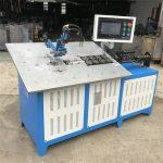 Venta caliente automático de alambre de acero 3d que forma la máquina CNC, 2d alambre doblado precio de la máquina