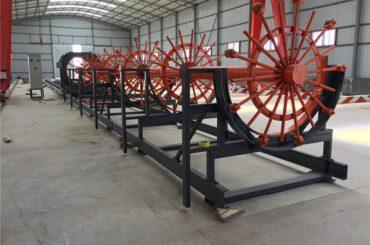 Máquina de soldadura de jaula de pila de acero, jaula de acero corrugado que hace la máquina