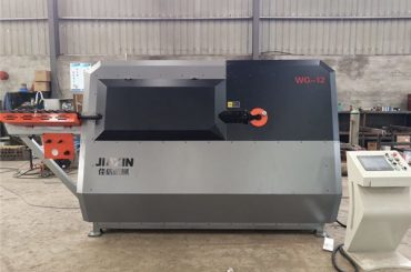 Alambre de acero del control automático CNC del fabricante 4-12mm de China, dobladora del rebar