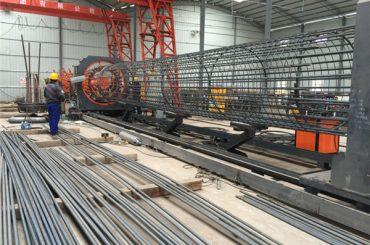 Hecho en China Operación simple Duradera y robusta Aseguramiento de la calidad Máquina de soldadura de jaula de barras de refuerzo y fabricación de armaduras de refuerzo