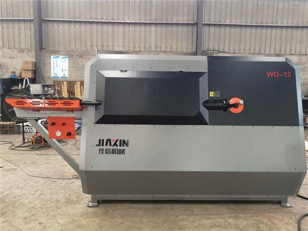 Máquina dobladora de varilla de refuerzo de acero inoxidable CNC máquina de corte y doblado de barras de acero redondas