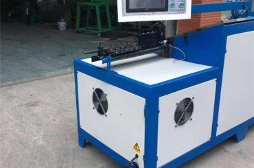 Máquina dobladora de alambre de acero de 6 mm dobladora canasta de acero inoxidable dobladora de alambre cnc