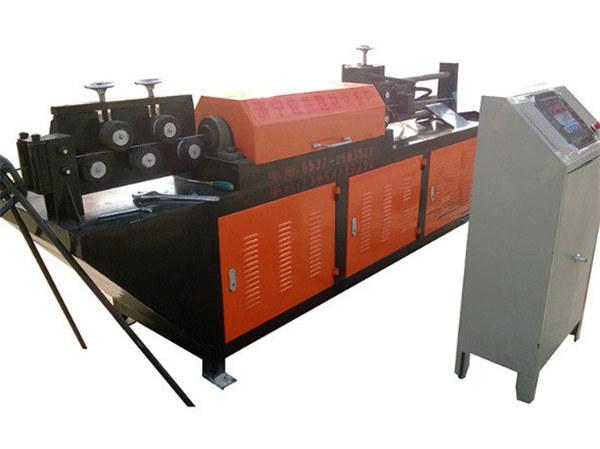 Máquina automática de enderezado y corte de hilo hidráulico.